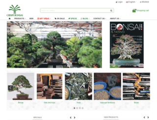 crespibonsai.com screenshot