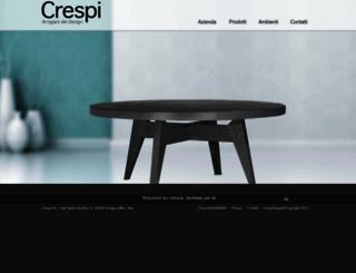 crespidesign.it screenshot