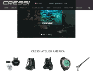cressi.co.uk screenshot