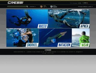cressi.net screenshot