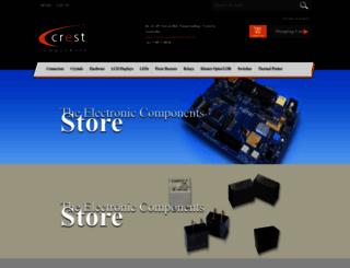 crestcomponents.com.au screenshot