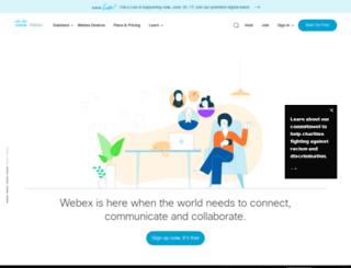 crestmedia.webexone.com screenshot