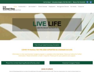 crestviewcares.org screenshot