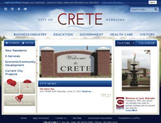 crete-ne.gov screenshot
