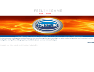 cretus.com screenshot