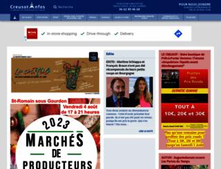 creusot-infos.com screenshot