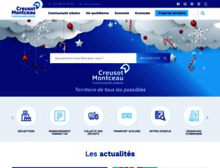 creusot-montceau.org screenshot