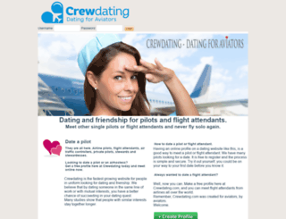 crewdating.com screenshot