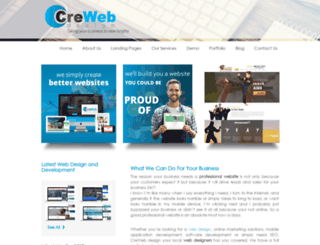 creweb.org screenshot