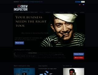 crewinspector.com screenshot