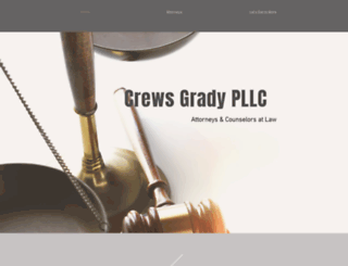 crewsgrady.com screenshot
