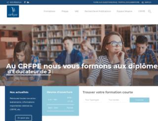crfpe.fr screenshot