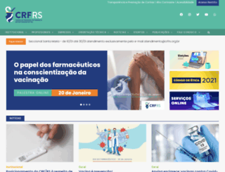 crfrs.org.br screenshot