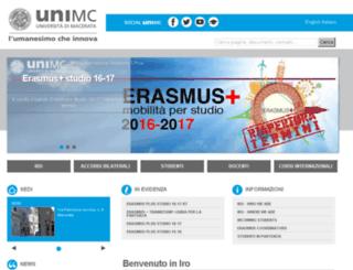 cri.unimc.it screenshot