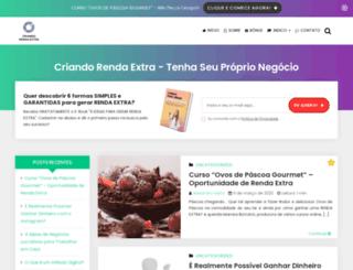 criandorendaextra.com.br screenshot