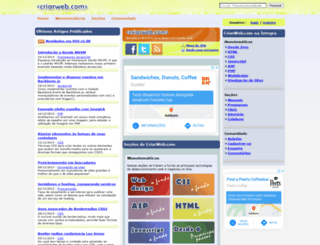criarweb.com screenshot