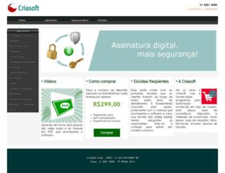 criasoft.net screenshot