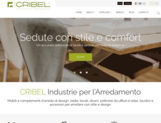 cribel.it screenshot