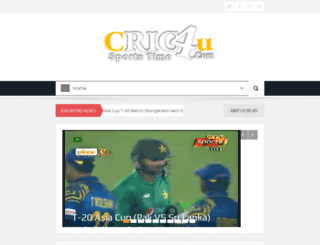 cric4u.com screenshot