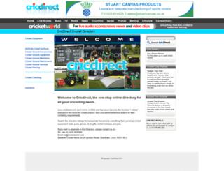 cricdirect.com screenshot