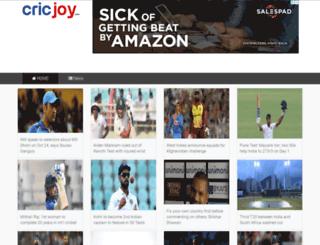 cricjoy.com screenshot