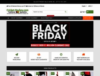 cricket-hockey.com screenshot