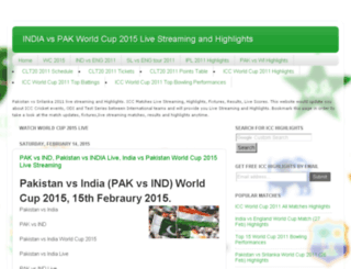 cricket-worldcup2011news.blogspot.com screenshot