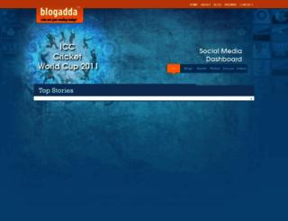 cricket.blogadda.com screenshot