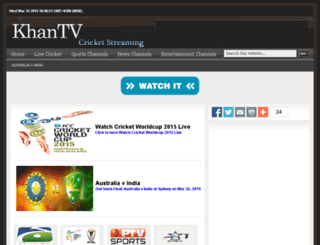 cricket.khantv.tv screenshot