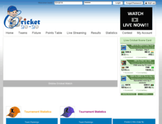 cricket20-20.com screenshot