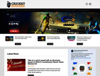 cricketbuddies.com screenshot