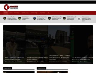 cricketgaming.net screenshot