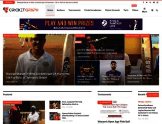 cricketgraph.com screenshot