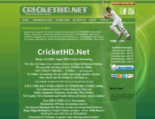 crickethd.net screenshot