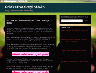 crickethockeyinfo.blogspot.in screenshot