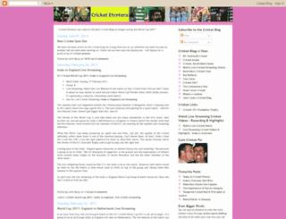 cricketplusnews.blogspot.com screenshot
