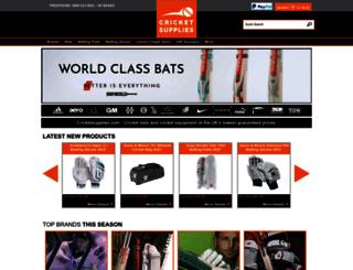 cricketsupplies.com screenshot
