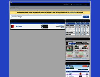 cricketzone.byethost14.com screenshot