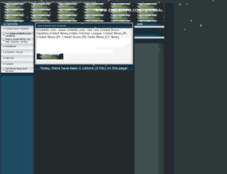 crickinfo.page.tl screenshot