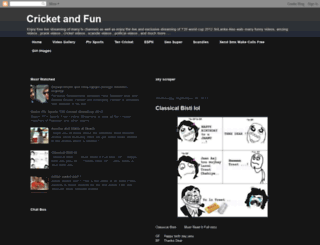 crickt20.blogspot.com screenshot