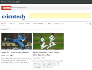 cricntech.com screenshot
