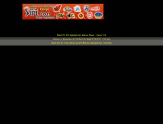 cricpc.blogspot.com screenshot