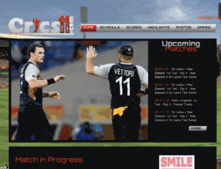 crics11.com screenshot