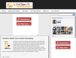 crictimestv.blogspot.in screenshot