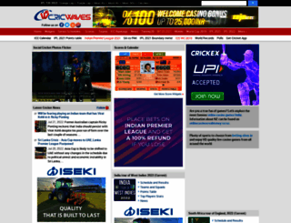 cricwaves.com screenshot