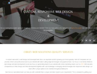 crikeywebs.com.au screenshot