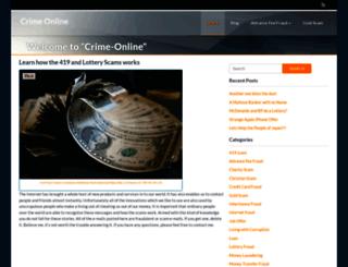 crime-online.info screenshot