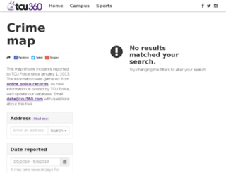 crime.tcu360.com screenshot
