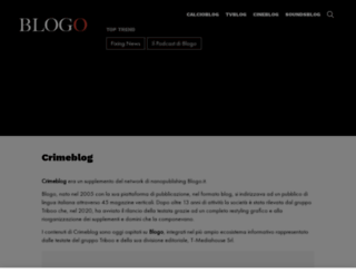 crimeblog.it screenshot