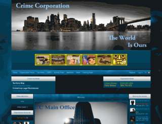 crimecorp.iclanwebsites.com screenshot